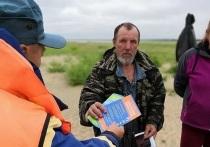 72-летнего рыбака спасли на Братском водохранилище