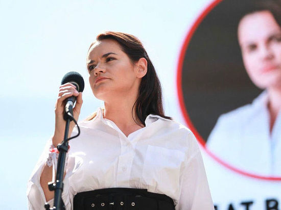 Тихановская проголосовала на выборах президента