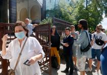 Белорусы в Киеве голосуют на выборах без списков