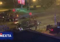 Появились кадры стрельбы по протестующим в Минске