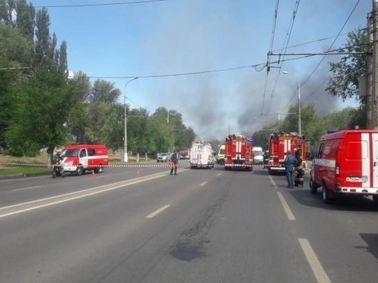 В Волгограде произошел взрыв на газовой заправке, 7 человек пострадали