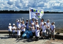 На Волге стартовал сезон экологической акции «оБЕРЕГАй»