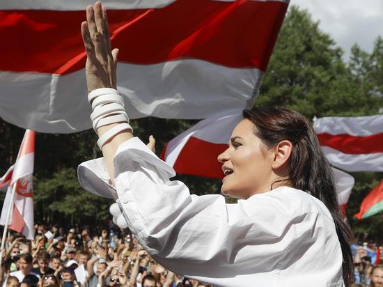 Тихановская приняла решение не участвовать в акциях протеста