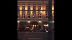 Опубликовано видео Ефремова, выходящего из машины после ДТП