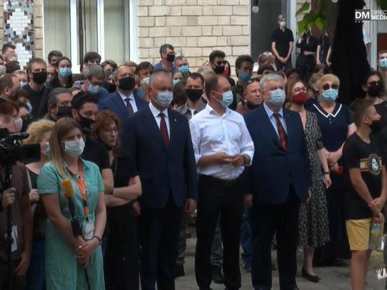Молдова простилась с Человеком Театра