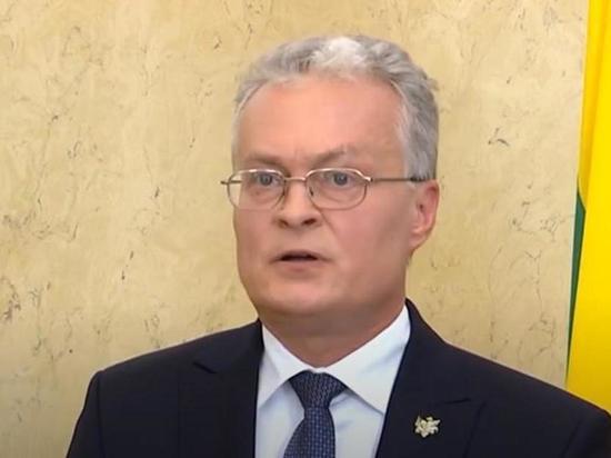 Президент Литвы: Евросоюзу необходимо обсудить санкции против Беларуси