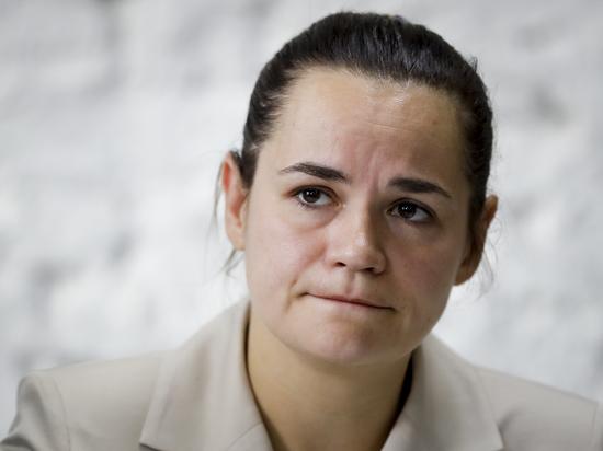 В Вильнюсе заявили, что Светлана Тихановская находится в Литве