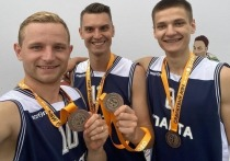Серпуховичи заняли призовое место в областных соревнованиях по стритболу