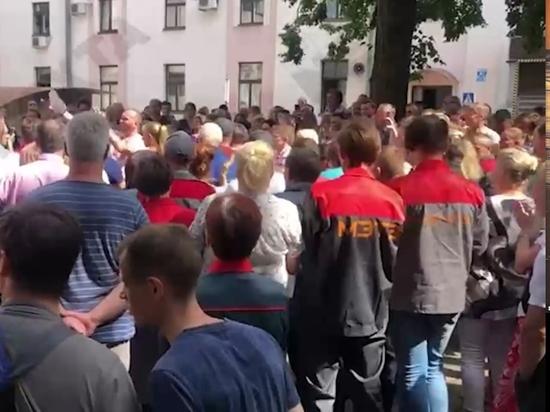 В Белоруссии начинают массовые забастовки