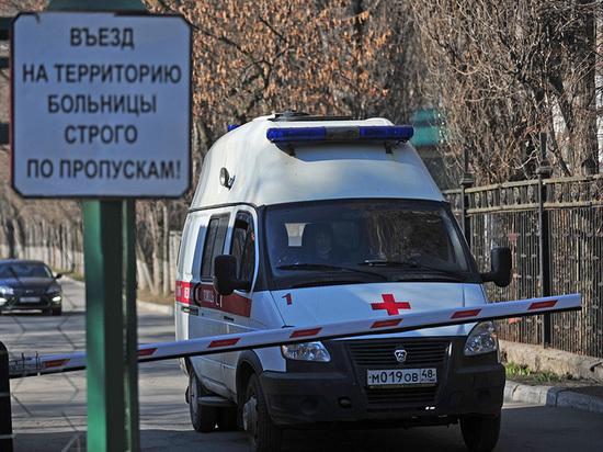 В Липецкой области зарегистрирована очередная смерть пациента с подтверждённым COVID-19