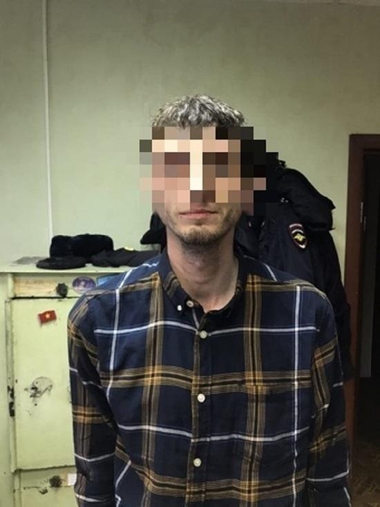 На окраине Твери задержали подозрительного мужчину