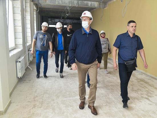 В Перми завершается строительство еще одной школы-«тысячника»