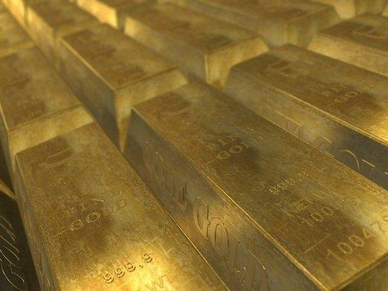 Цены на золото начали резко падать после стремительного роста