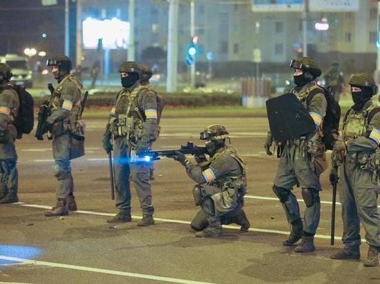 Белорусские силовики покинули Минск