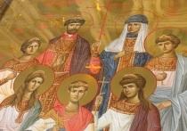 В храм Новосибирска привезли икону семьи царя Николая