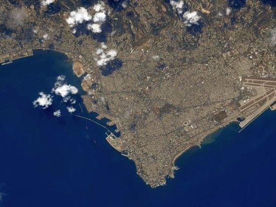 С борта МКС сделали снимок пострадавшего от взрыва Бейрута