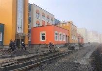 Алексею Текслеру понравился строящийся детский сад в Трехгорном, проект возьмут на заметку