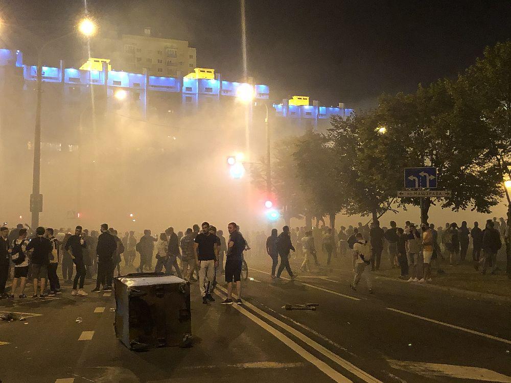 Лица протестующих в Минске: как выглядели уличные акции
