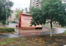 Внешний вид Оренбурга портят незаконные граффити