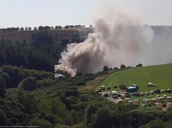 В Шотландии произошло крушение пассажирского поезда