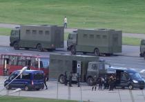 В Брест вошли военные