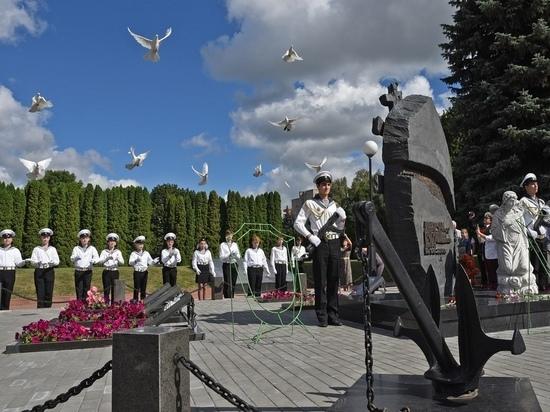 Куряне почтили память  погибших на атомной подлодке «Курск» подводников