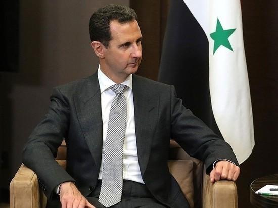 Башар Асад заявил, что США нужны террористы на Ближнем Востоке