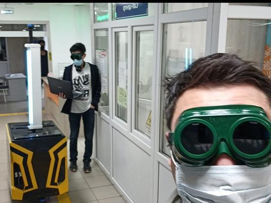 Якутские инженеры создали робот-дезинфектор