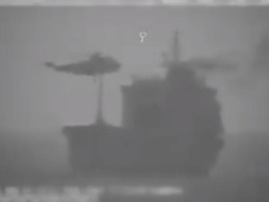 Иран захватил танкер под либерийским флагом