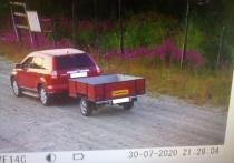 Первые нарушители: в Салехарде камеры засняли вывоз мусора в лес