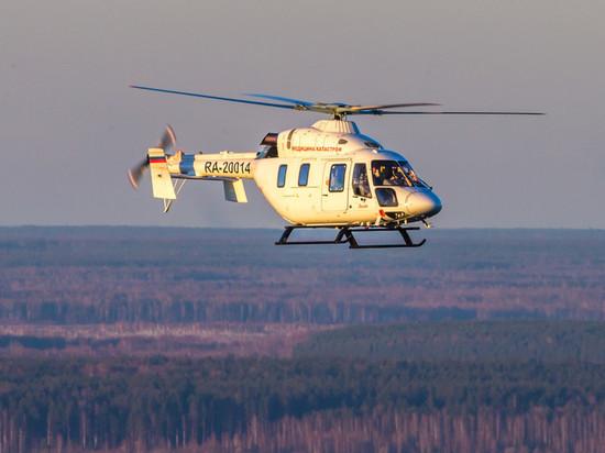 В Белгородской области санитарная авиация выполнила сотый вылет