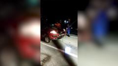 Автоледи не справилась с управлением и утопила машину: видео