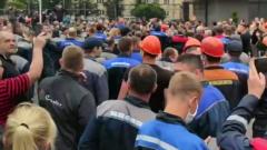 Кадры мощной забастовки на БЕЛАЗе потрясли белорусов