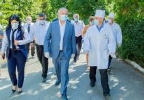Президент Молдовы посетил районную больницу Теленешт