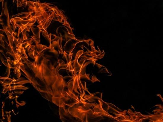 В Тульской области за сутки сгорели два здания и две машины
