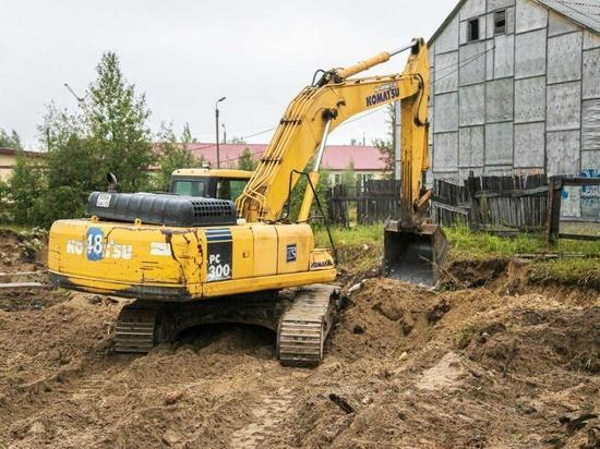 В Ноябрьске убрали заброшенное 14 лет назад свайное поле