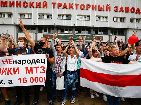 В пятницу, в день объявления официальных итогов президентских выборов, количество бастующих предприятий в Белоруссии заметно расширилось