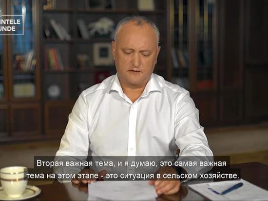В Молдове действиями оппозиции управляют из-за границы