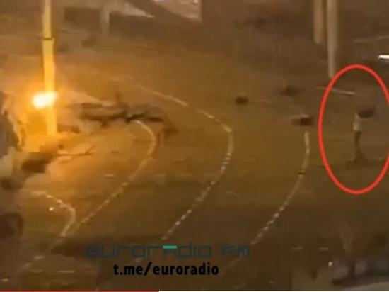 Белорусское радио опубликовало ролик с моментом гибели Тарайковского