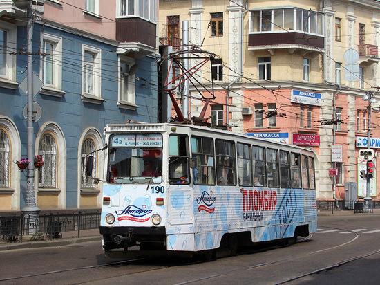 10 новых трамваев из Москвы прибудут в Иркутск осенью