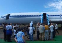 Музей авиации Забайкалья открылся в самолете Ту-154 в Чите