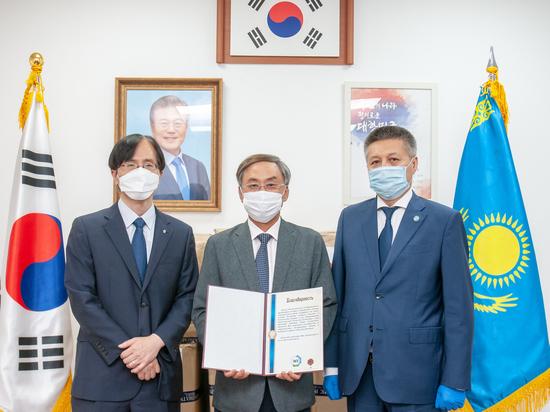 Национальная Организация Туризма Кореи оказала помощь Казахстану в борьбе с COVID-19