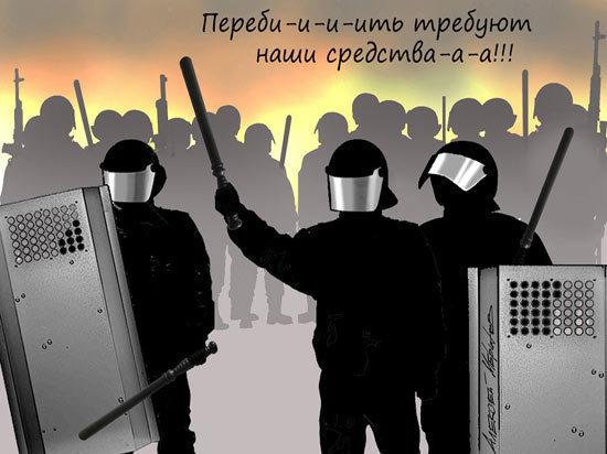 Силовики Лукашенко доказали, что сами способны удержать ситуацию под контролем