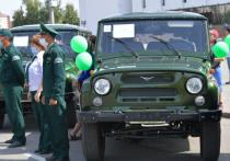 Лесники Тувы получили вторую крупную партию спецавтомашин