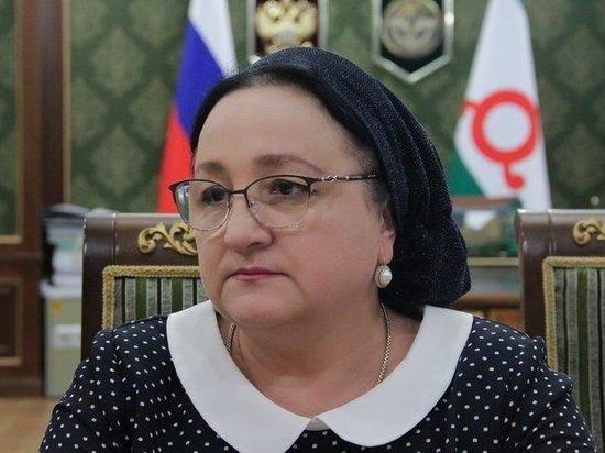 В Ингушетии отправлена в отставку глава минздрава