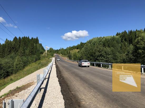 В Пермском районе продолжается ремонт дорог в рамках нацпроекта