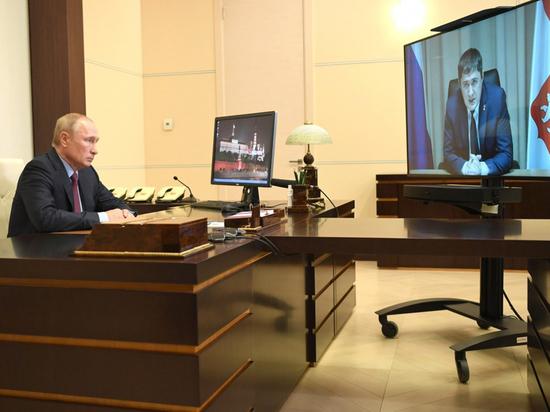 Владимир Путин одобрил ключевые проекты Пермского края