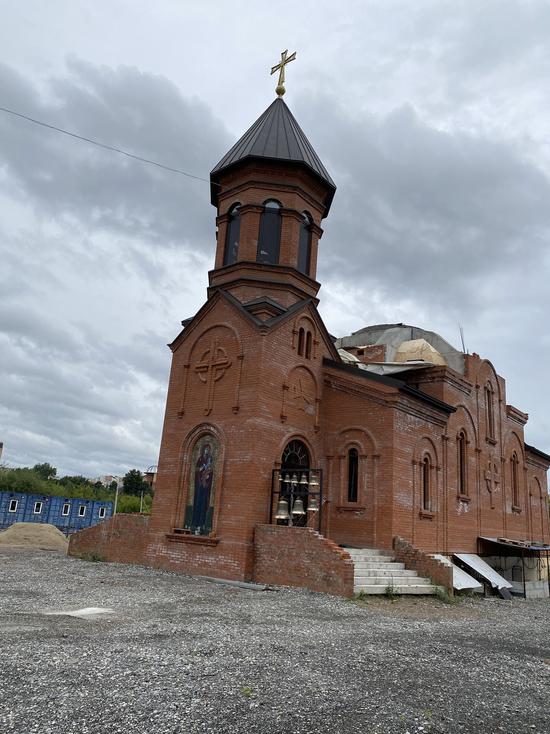 В Перми строят церковь в византийском стиле