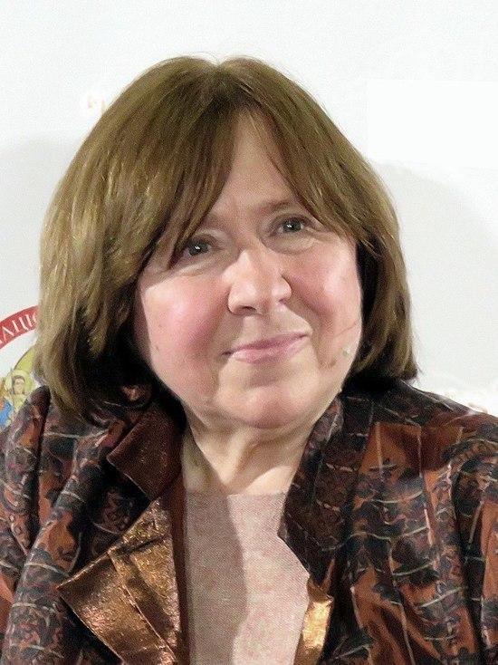 Писатель Светлана Алексиевич вошла в Координационный совет Тихановской