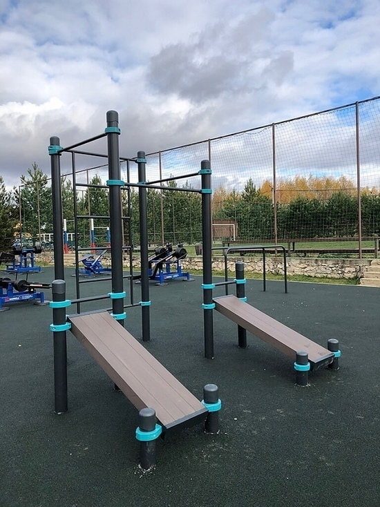 Определен подрядчик по установке спортплощадки в Ясногорском районе